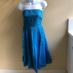 NWOT J Crew strapless dress